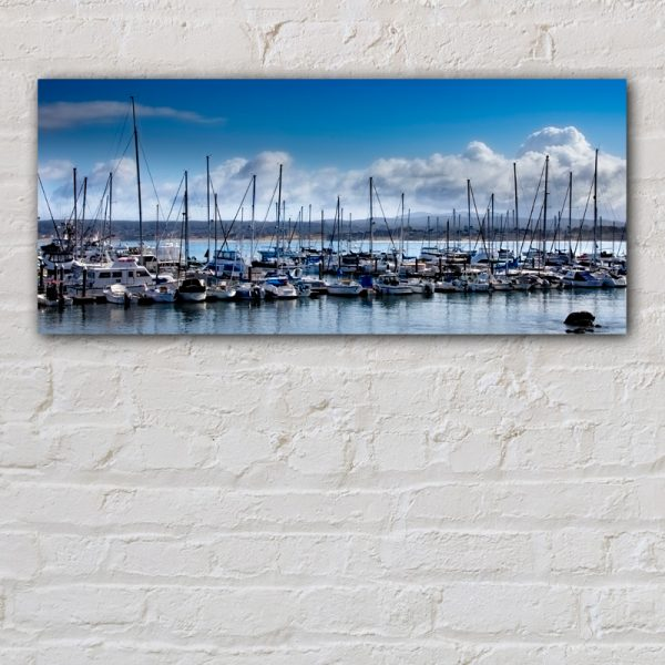 Image of Boats on Monterey Bay